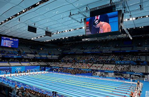 Photo: Next-Generation Viewing Experience for Aquatic Events