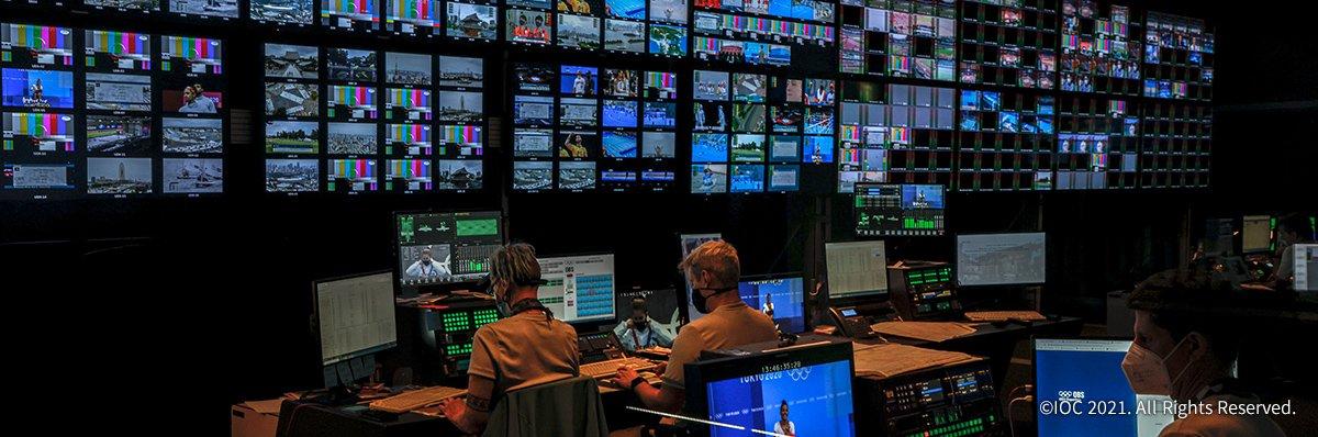 Photo: Panasonic Technology Helps Take Olympic Broadcasting to Next Level