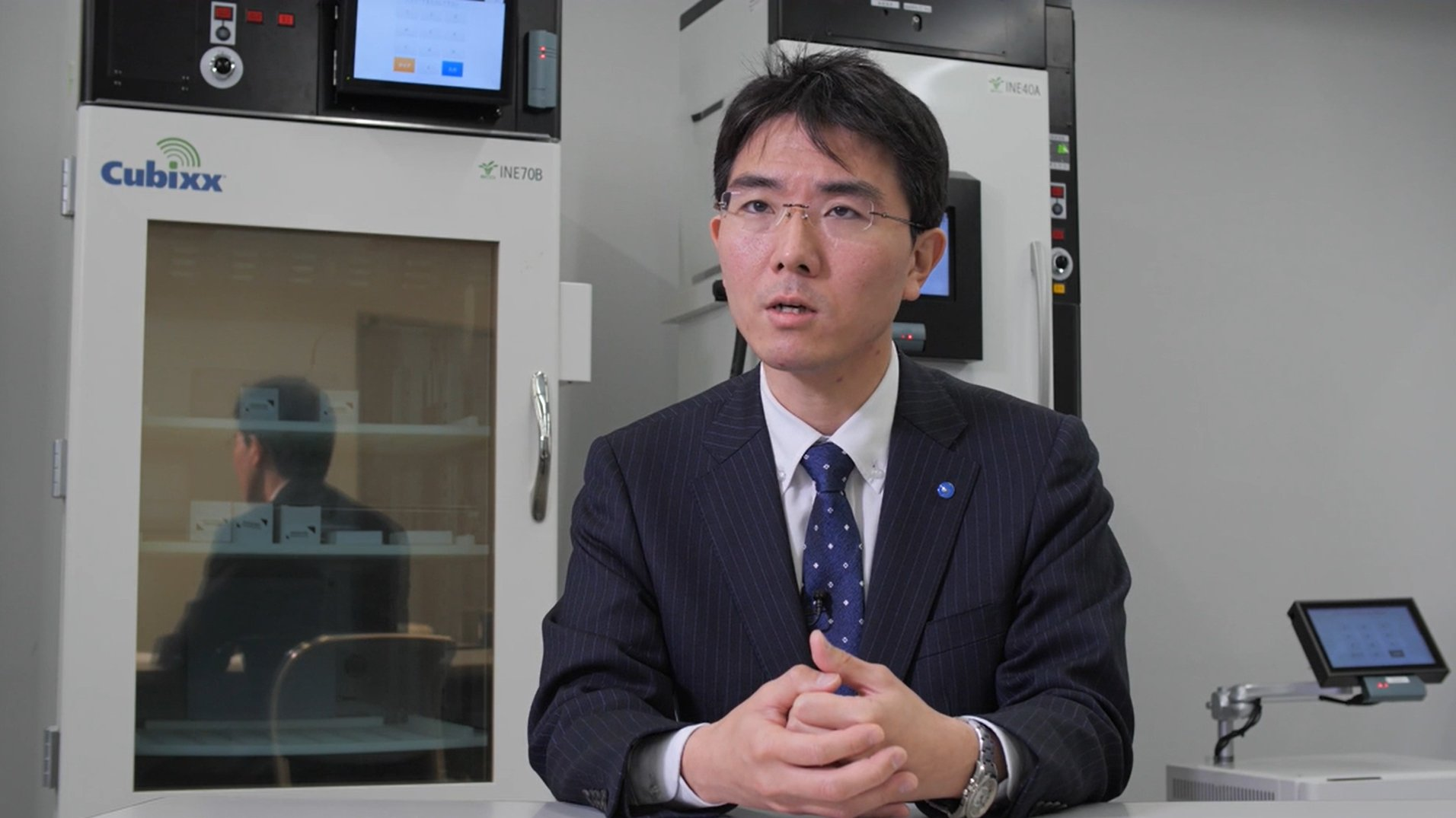 Photo: Seita Ando, Medical and Home Care Solutions Division General Manager, Healthcare Business Planning Department, Suzuken Co., Ltd.