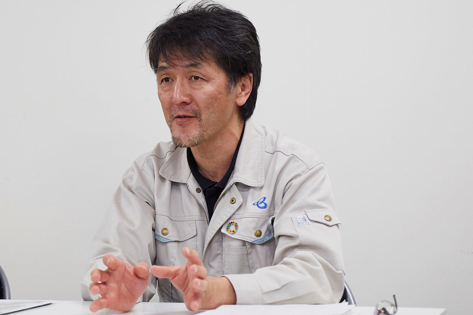 Kazuhiro Ajihara, Section Manager, Facility Section, Sakai Construction Department, Construction Management Headquarters, Hanshin Expressway Company Limited