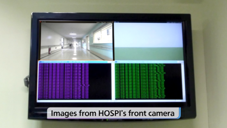 photo: Images from HOSPI's front camera