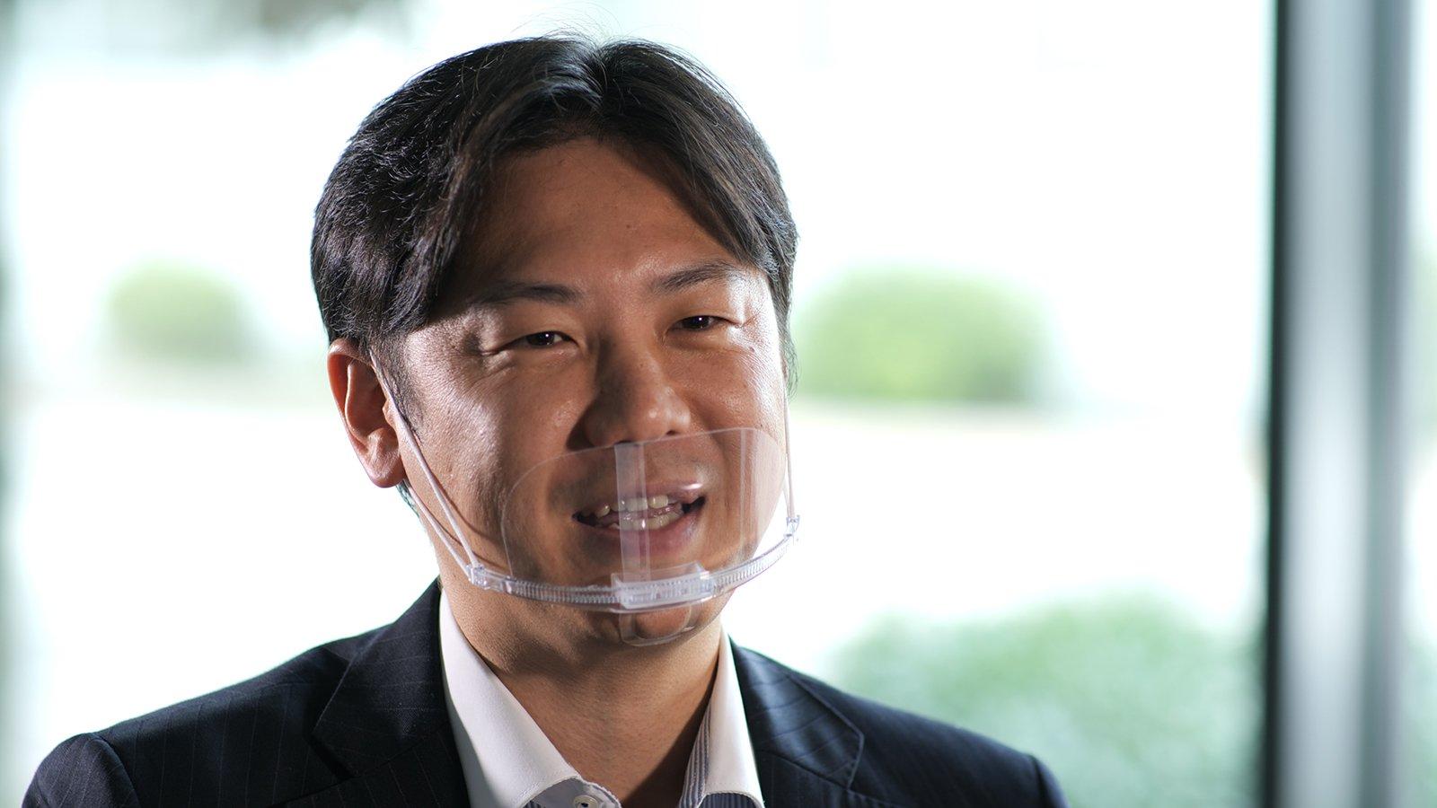 Photo: Kyota Mukunoki, (At the time) Division Chief, Okayama Electric Works, Chugoku and Shikoku Electric Works, Life Solutions Company, Panasonic Corporation