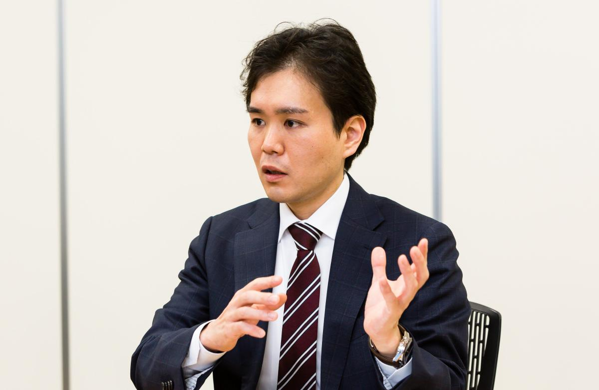photo: Katsuyuki Nakamura, Director & Head of Advanced Medical Device Development, Mitaka Kohki Co., Ltd.