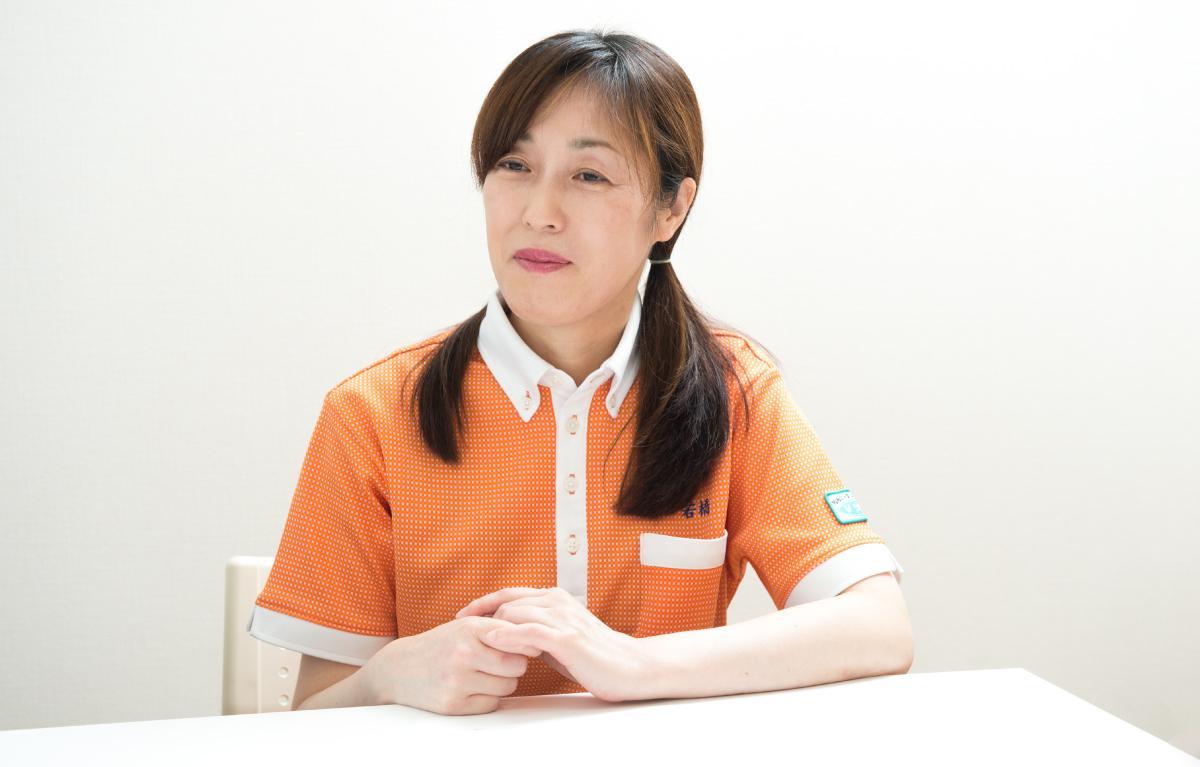 photo: Aya Wakahashi, Center Manager & Long-Term Care Support Specialist, TSUKUI Setagaya-kamisoshigaya day service center