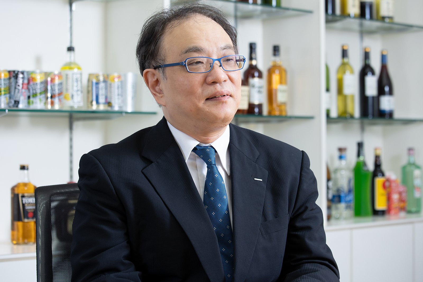 Photo: Hiroshi Naito, Senior General Manager, Corporate Sustainability Department, Corporate Sustainability Division, Suntory Holdings Limited