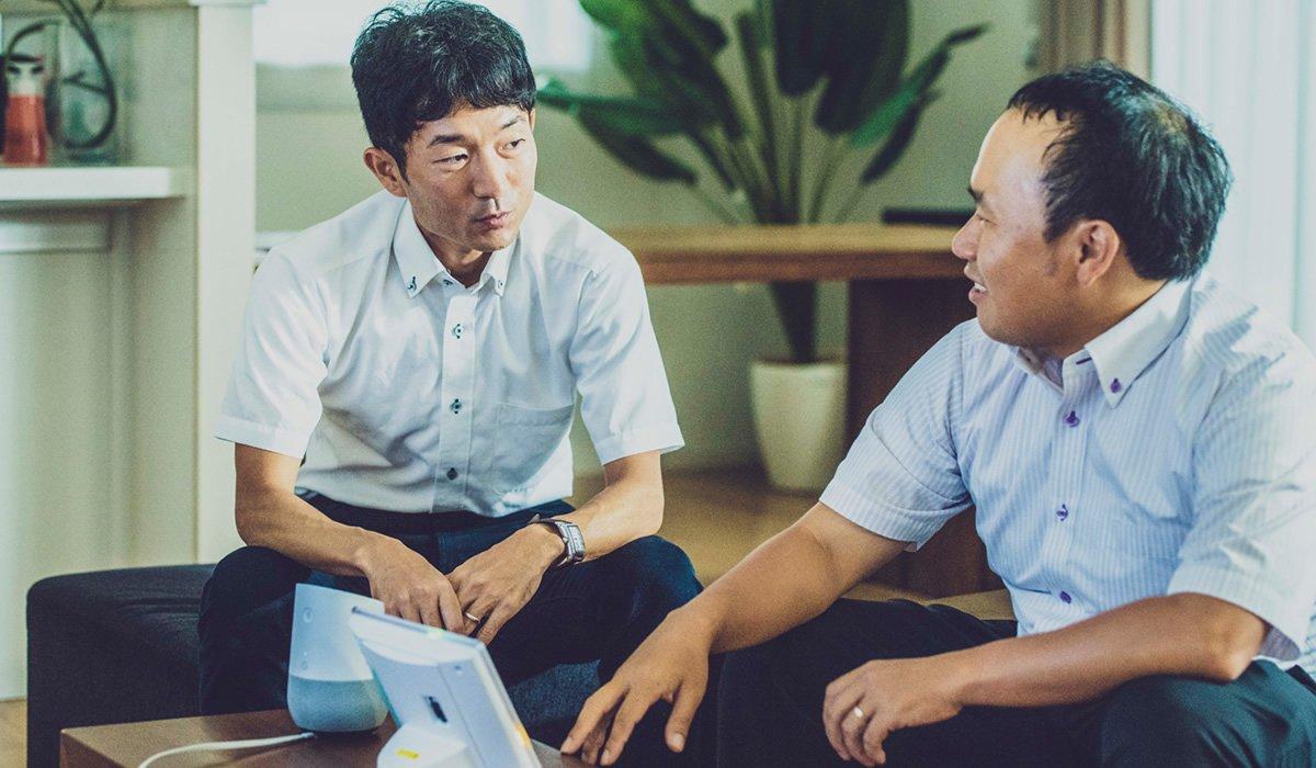Photo: Hiroshi Ouchida (left) and Norikazu Tagaki (right).