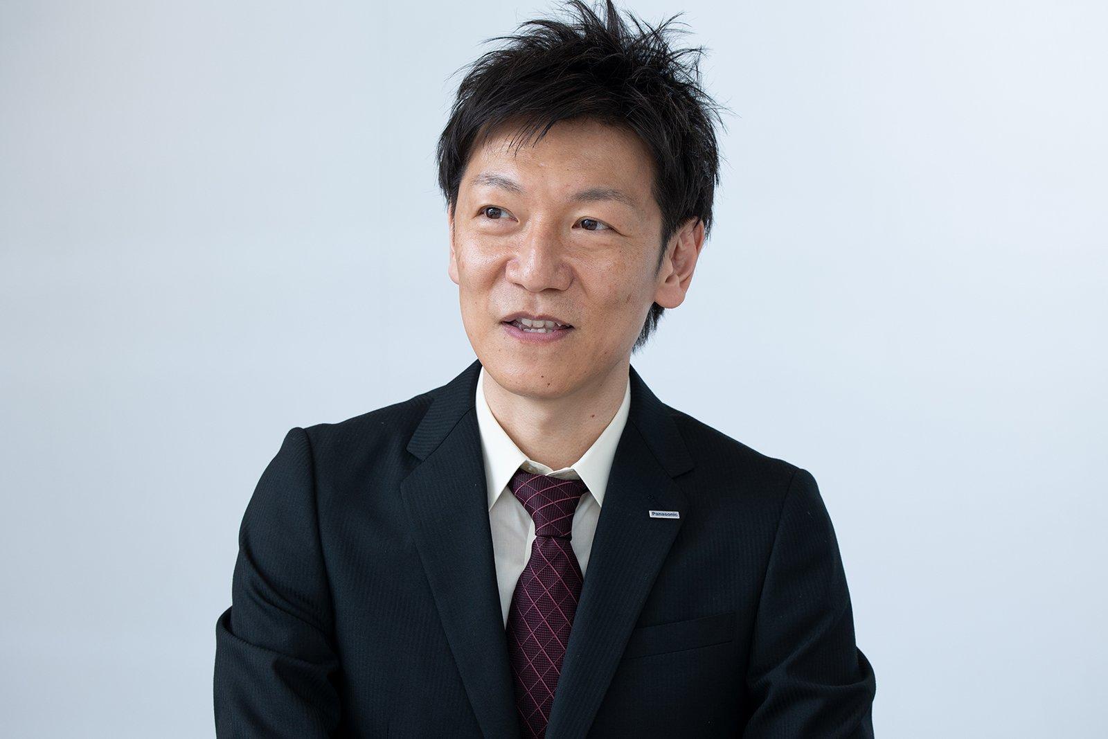 Photo: Masaki Yamauchi, Manager, Mobility Business Strategy Office, Panasonic Corporation