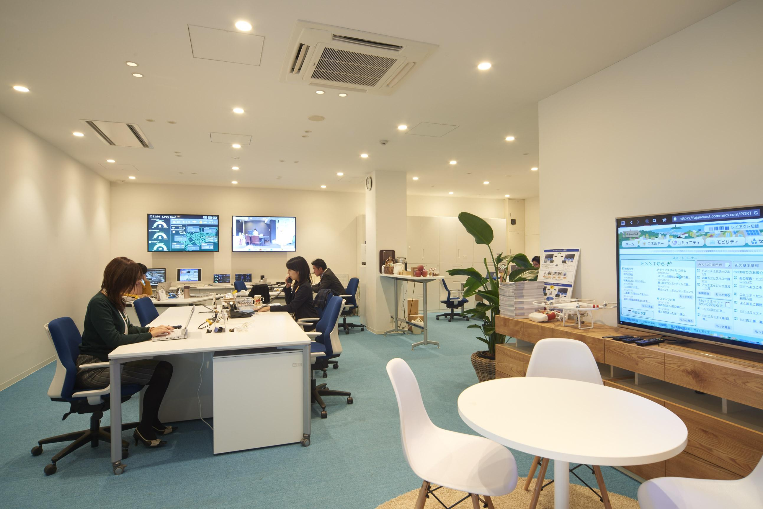 Photo: Fujisawa SST Management Company's office in FSST