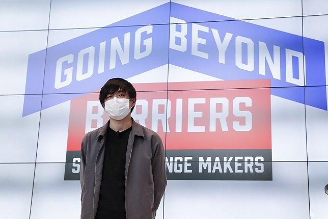 Photo: Kento Yokose, the regional representative for Japan