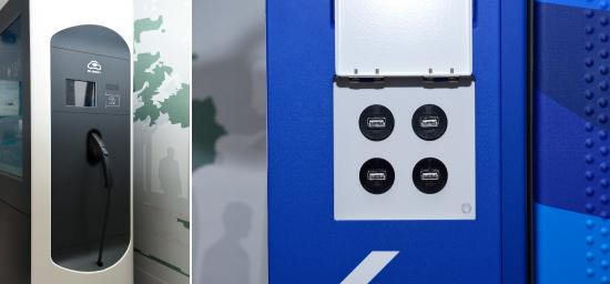 photo: Enabling the charging of electric cars and smartphones throughout the city