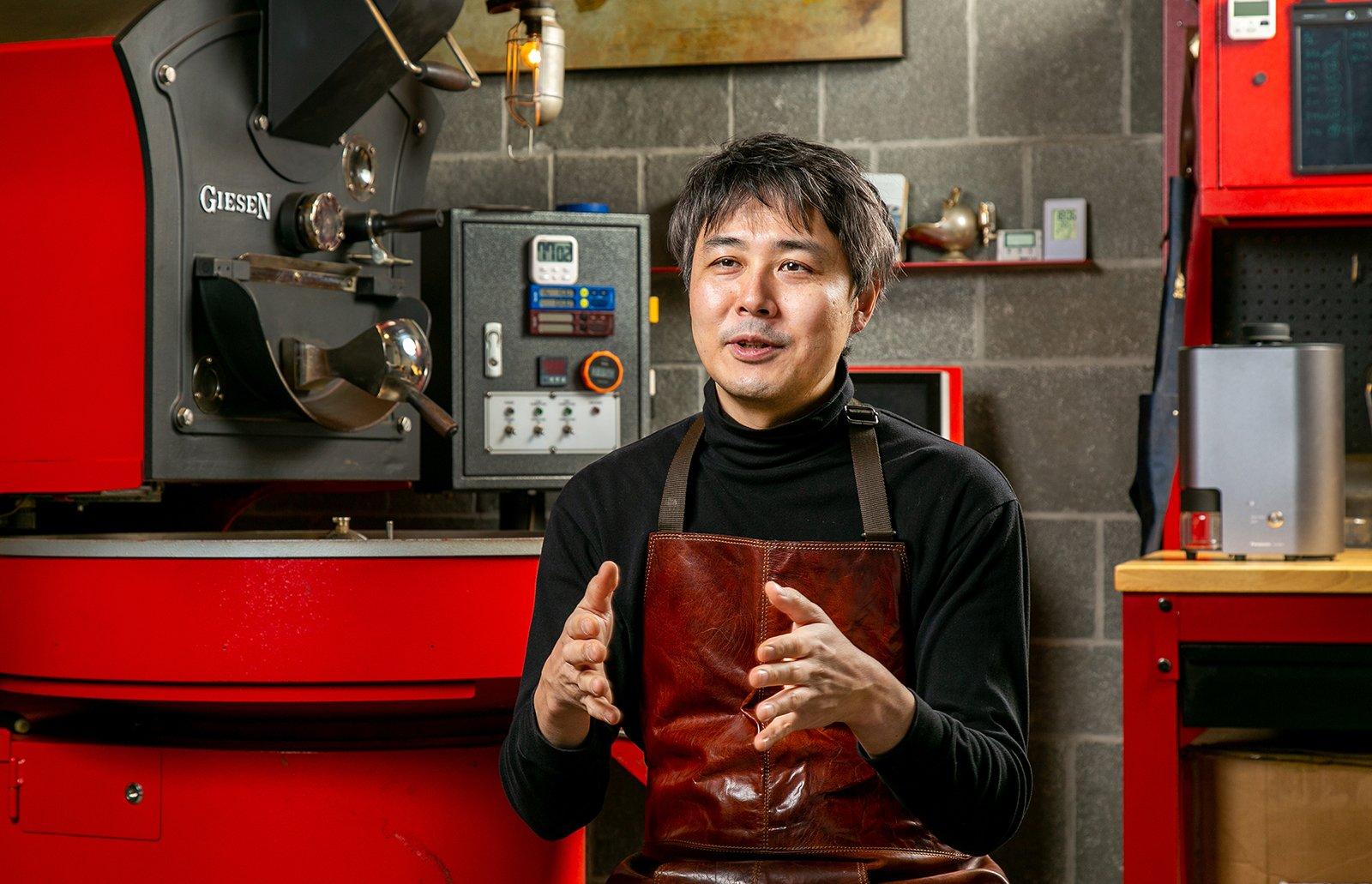 Photo: Naoki Goto, World Coffee Roasting Champion 2013, Owner Roaster, Tokado Coffee