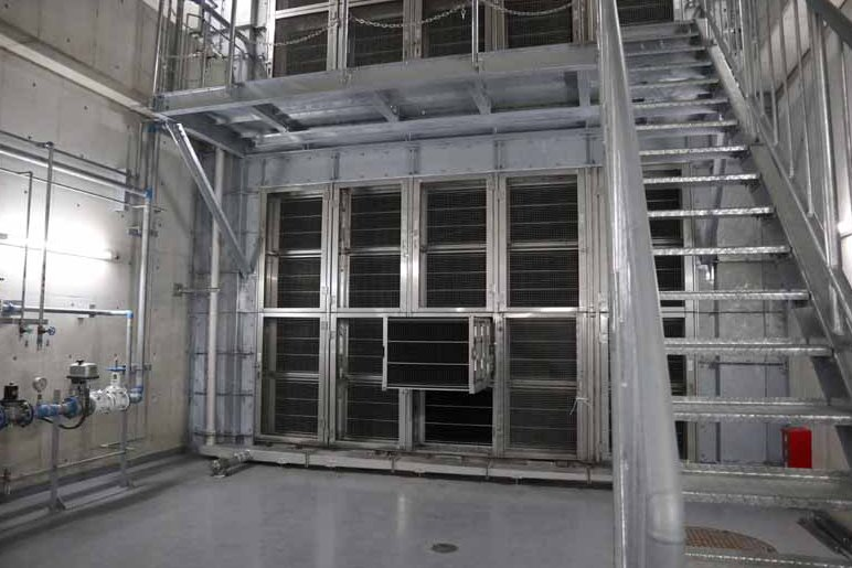 An electrostatic precipitator