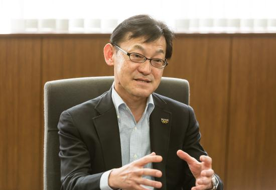 photo: Yoshinobu Nakada, Managing Director of Panasonic Cycle Technology Co., Ltd.