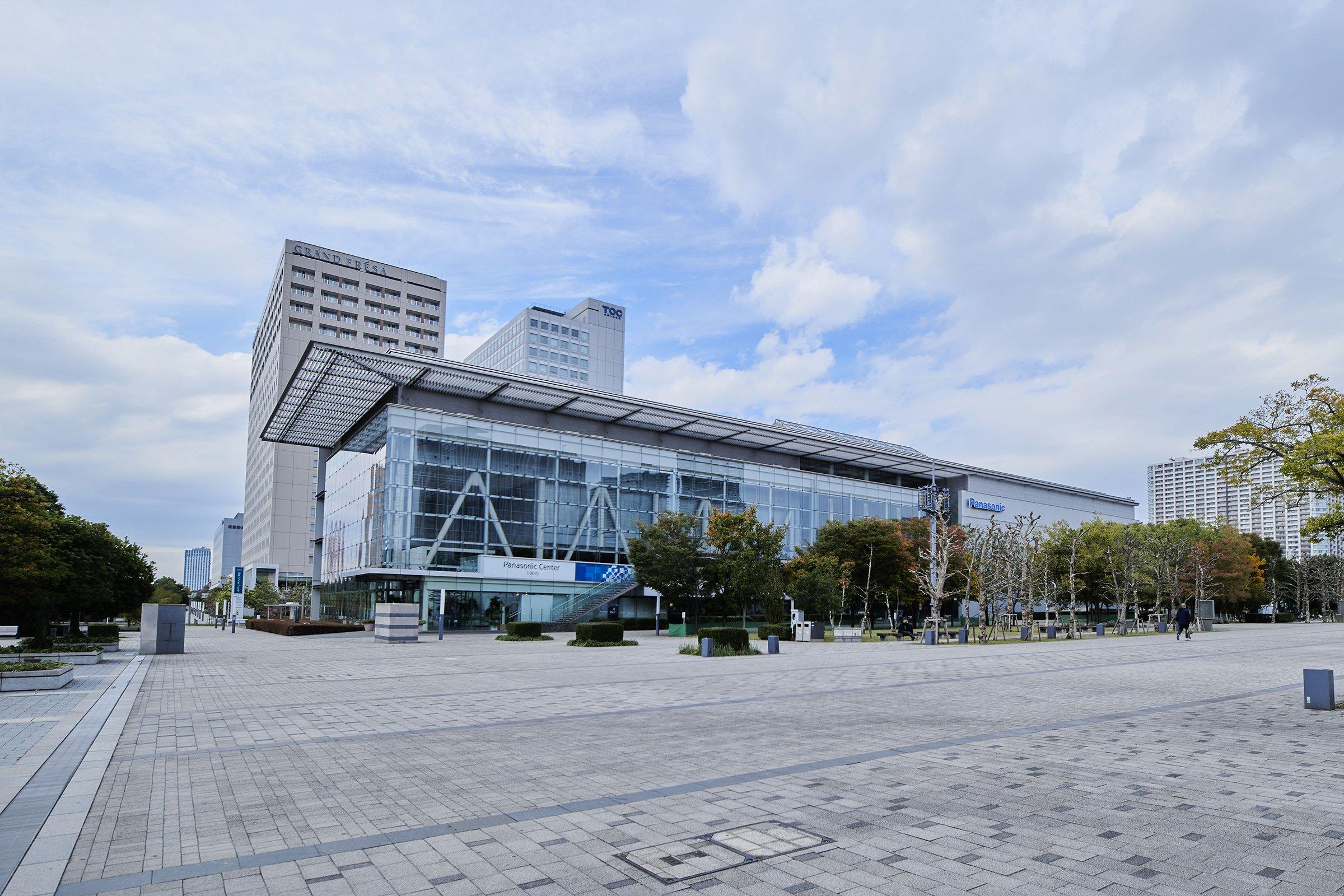 Photo: Panasonic Center Tokyo.