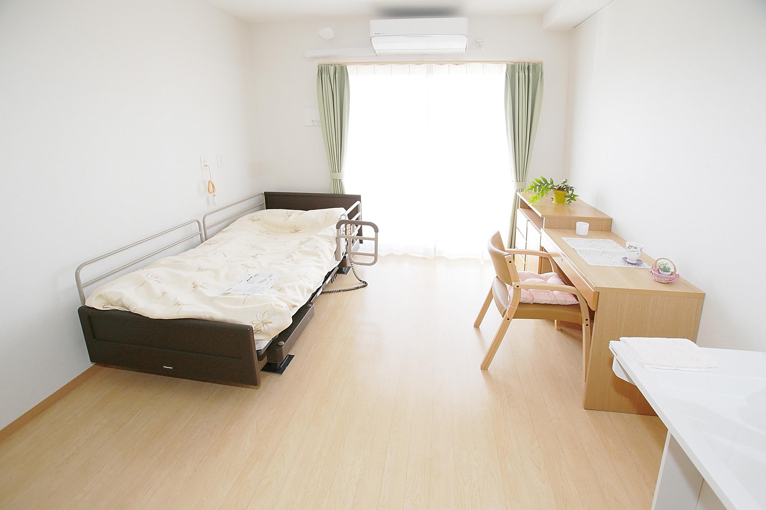 Photo: Room in an assisted-living facility outfitted with an AC Monitoring System