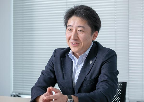photo: Yoichiro Takagi, Senior Project Manager, Tokyo Olympic and Paralympic Athletes' Village Department Promotion Group, Mitsui Fudosan Residential Co., Ltd.