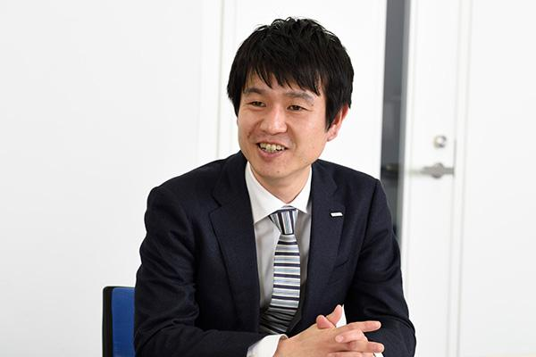 photo: Kazuya Oshima, Project Manager, Corporate & Institutional Sales Coordination Dept., Development Sales Dept. Marketing Div., Eco Solutions Company, Panasonic Corp.