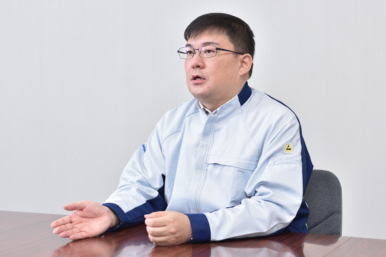 Photo: Tomoaki Okuda, Senior Coordinator, Plant Engineering Unit, Environmental Solutions Business Group, Panasonic Environmental Systems & Engineering Co., Ltd.