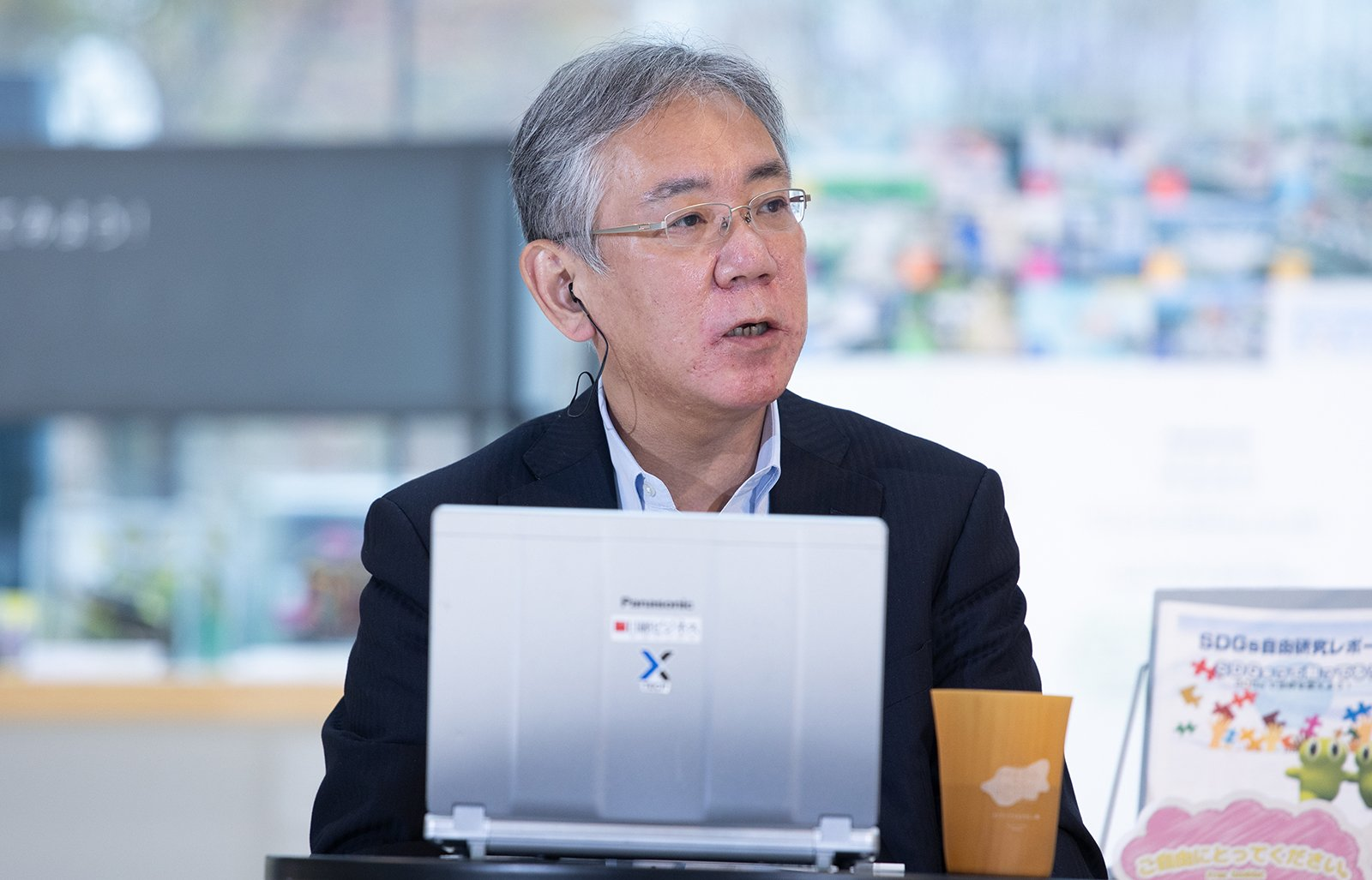Photo: Shigenori Jinbo, Senior Fellow, Nikkei BP Intelligence Group
