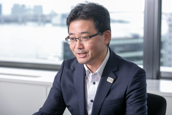 photo: Fumihiko Fukuchi, Manager, Energy Sales and Service Planning Dept., Energy Solutions Division, Tokyo Gas Co., Ltd.