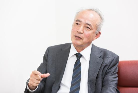 photo: Yoshito Ikeda, Director, Air Travel Tokushima, Inc.
