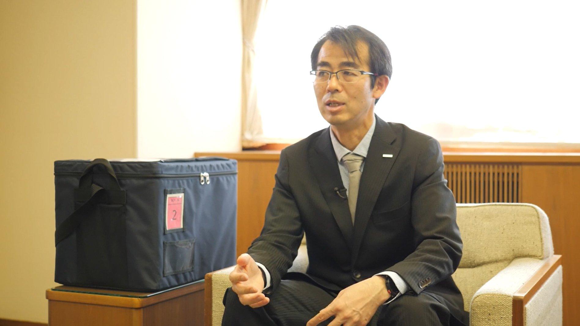 Photo: Shinya Kojima, VIXELL Business Project Leader, Business Development Center, Appliances Company, Panasonic Corporation