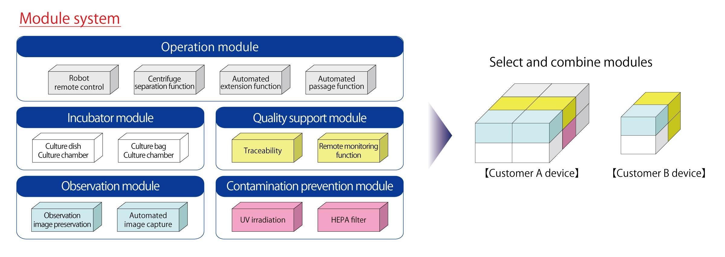 figure: Module system