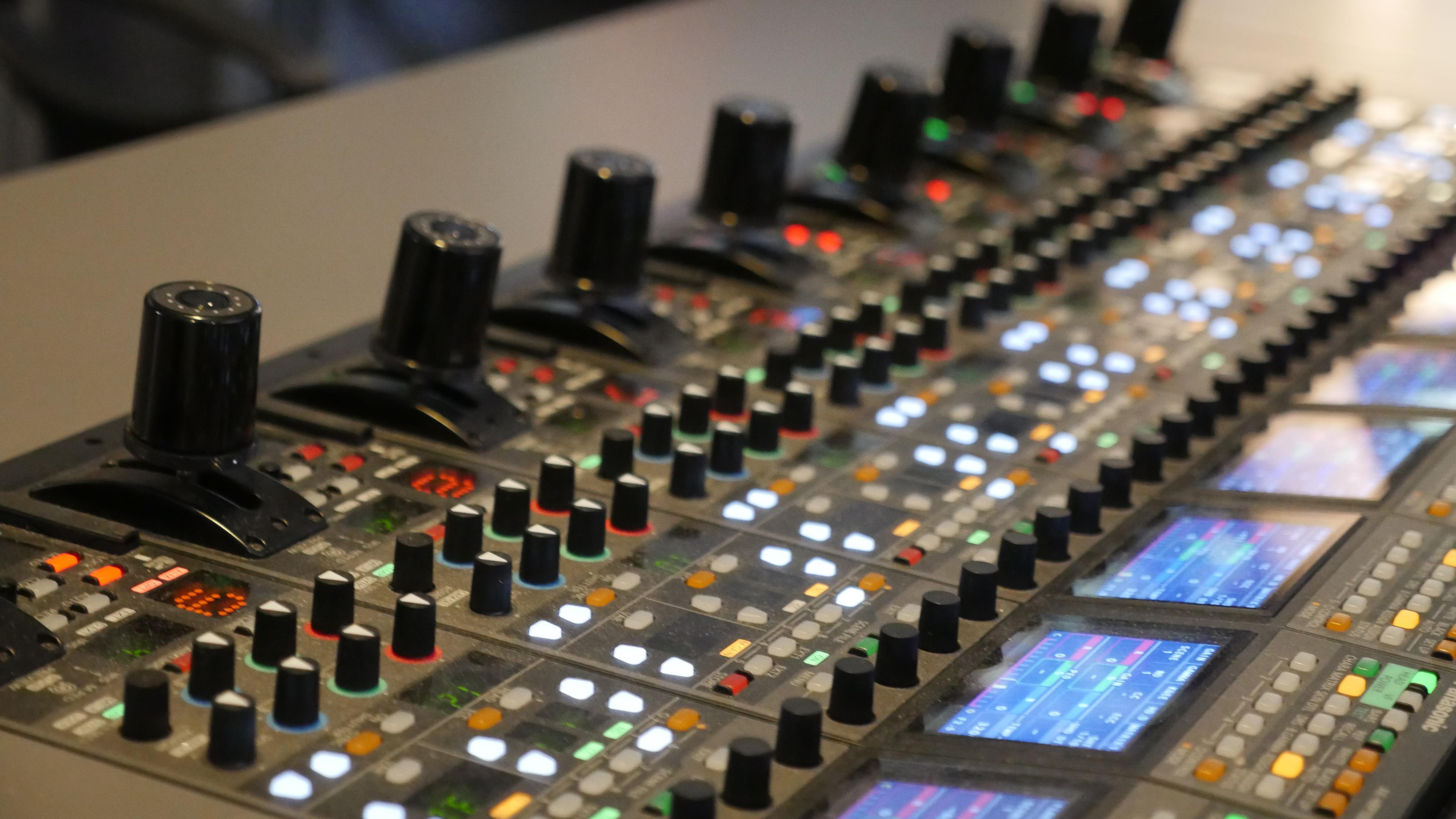 photo: Studio 6 at the Berliner Philharmonie