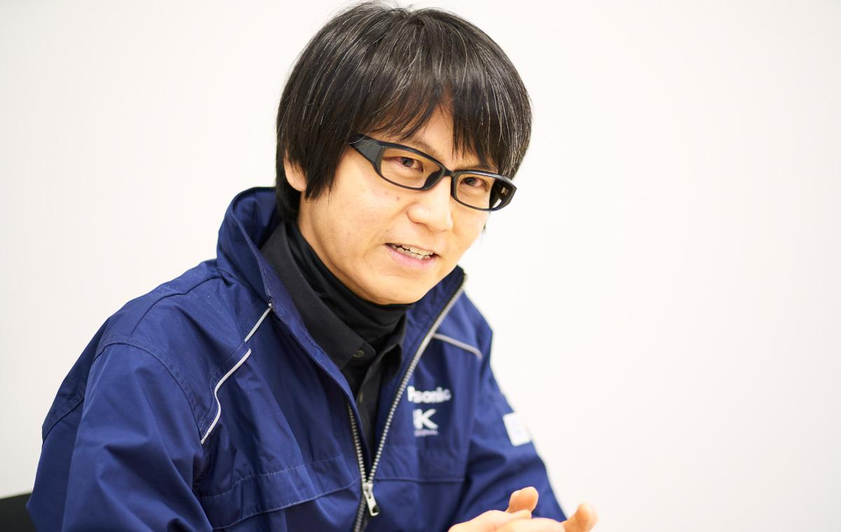 photo: Yuhi Sasaki, Development Dept., Industrial & Medical VSBU, Security Systems Div., Connected Solutions Company, Panasonic Corp.