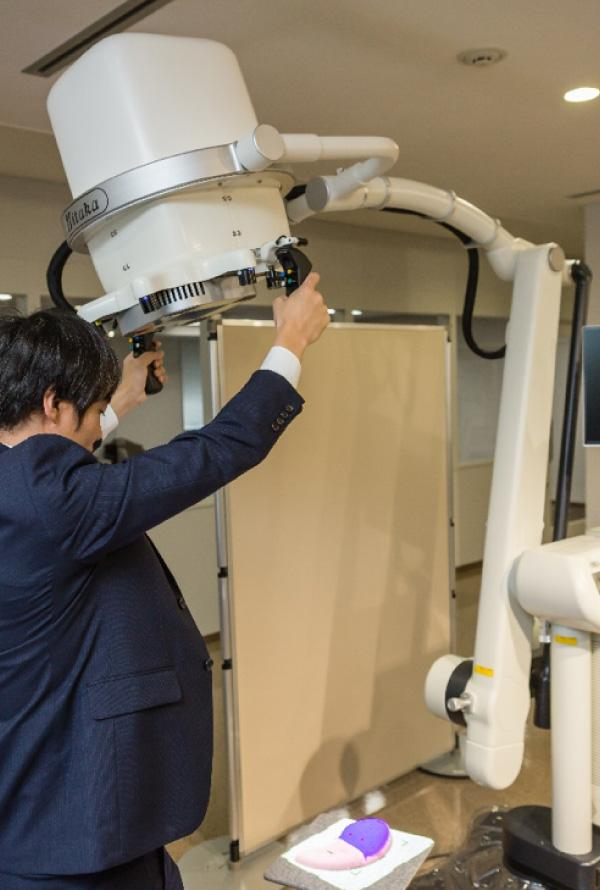 photo: Medical Imaging Projection System (MIPS) in operation