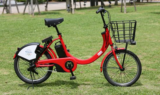 photo: The new model being introduced to Docomo Bike Share in the summer of 2018