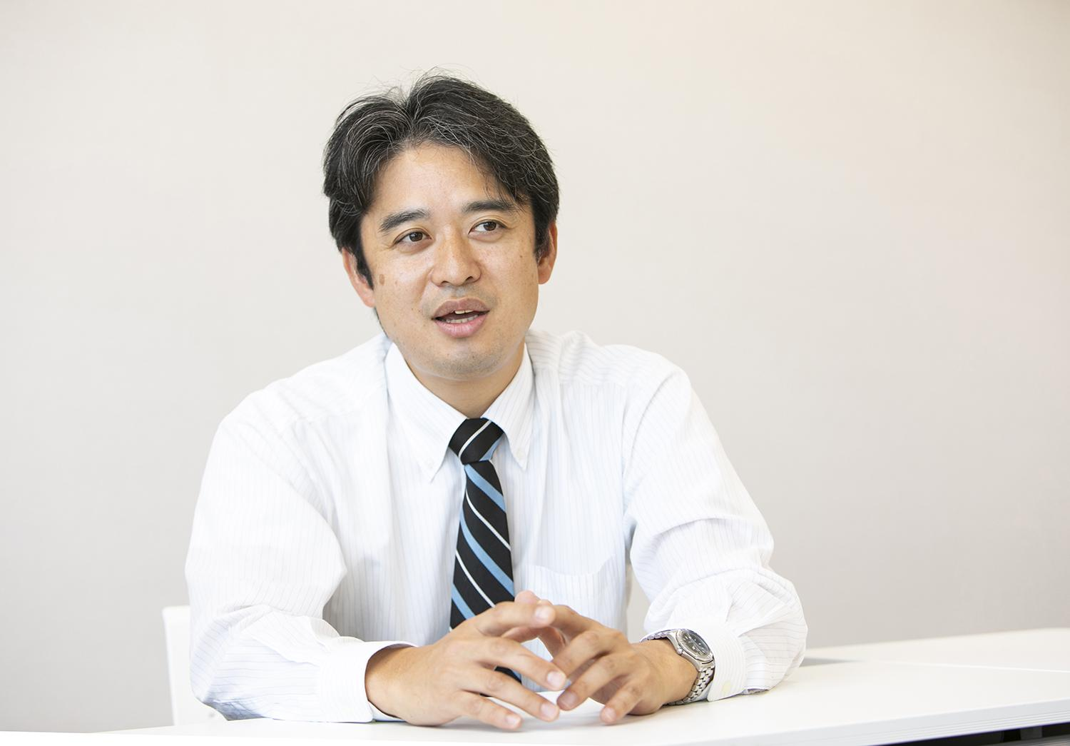 Photo: Satoshi Mizuno, Deputy Manager, Policy Planning Division, Policy Planning Dept., Fujisawa City Hall