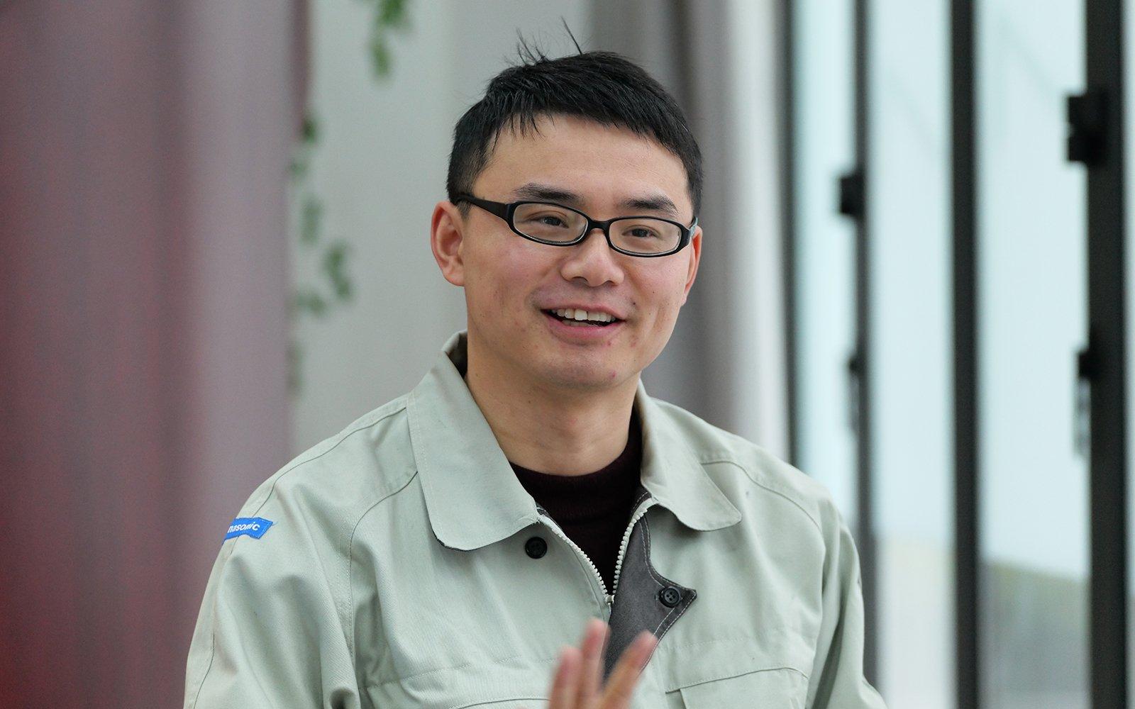 Photo: Zhang Deng, product design, Panasonic Appliances (China) Co., Ltd