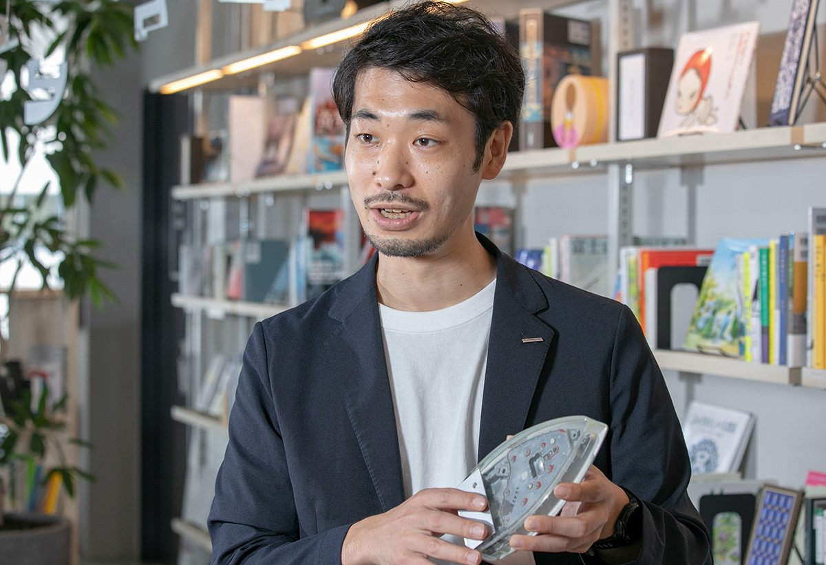 Photo: Yuichiro Shinkai, Consultant, Digital Relation Lab, Design HQ, Institute of Future Design, Panasonic Corporation