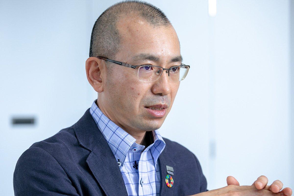 Photo: Kensaku Ishibashi, Unit Leader, Circular Economy Unit, Global Environmental Promotion Section, Environmental Management Department, Quality & Environment Division, Panasonic Corporation