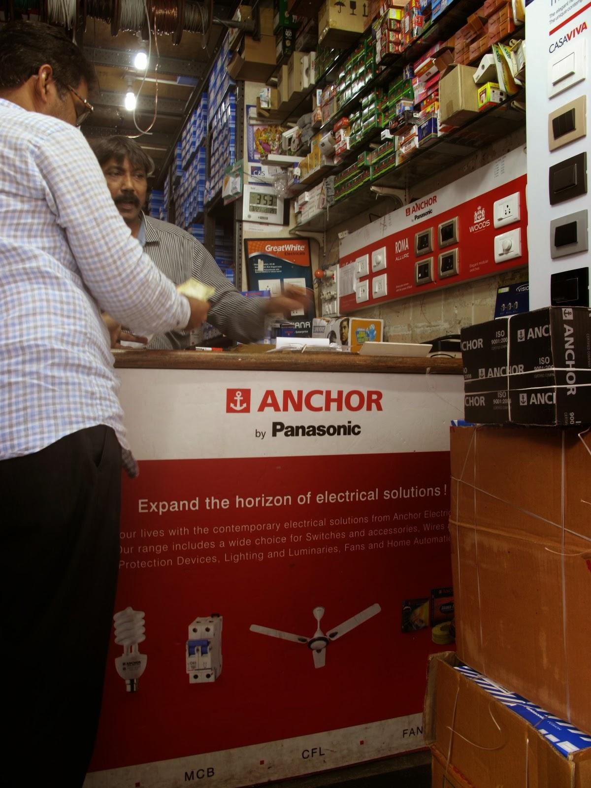 panasonic anchor s new lighting business begins in mumbai india