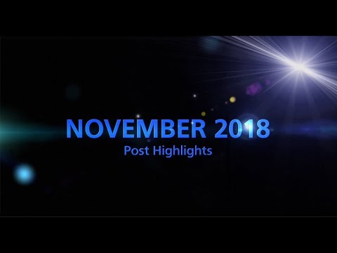 NOVEMBER 2018 - Social Media Monthly Highlights