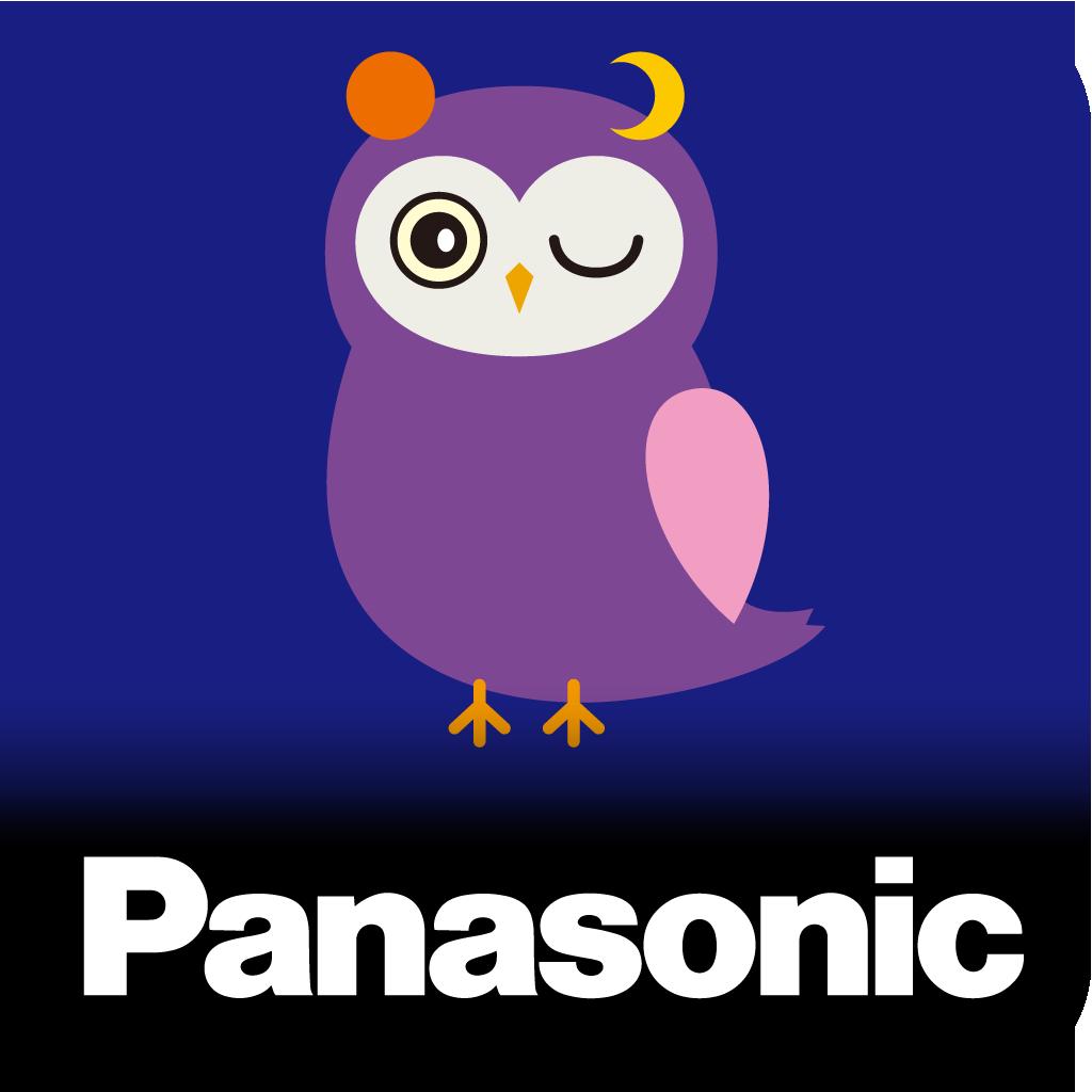 パナソニック「おやすみナビ」アプリ アイコン