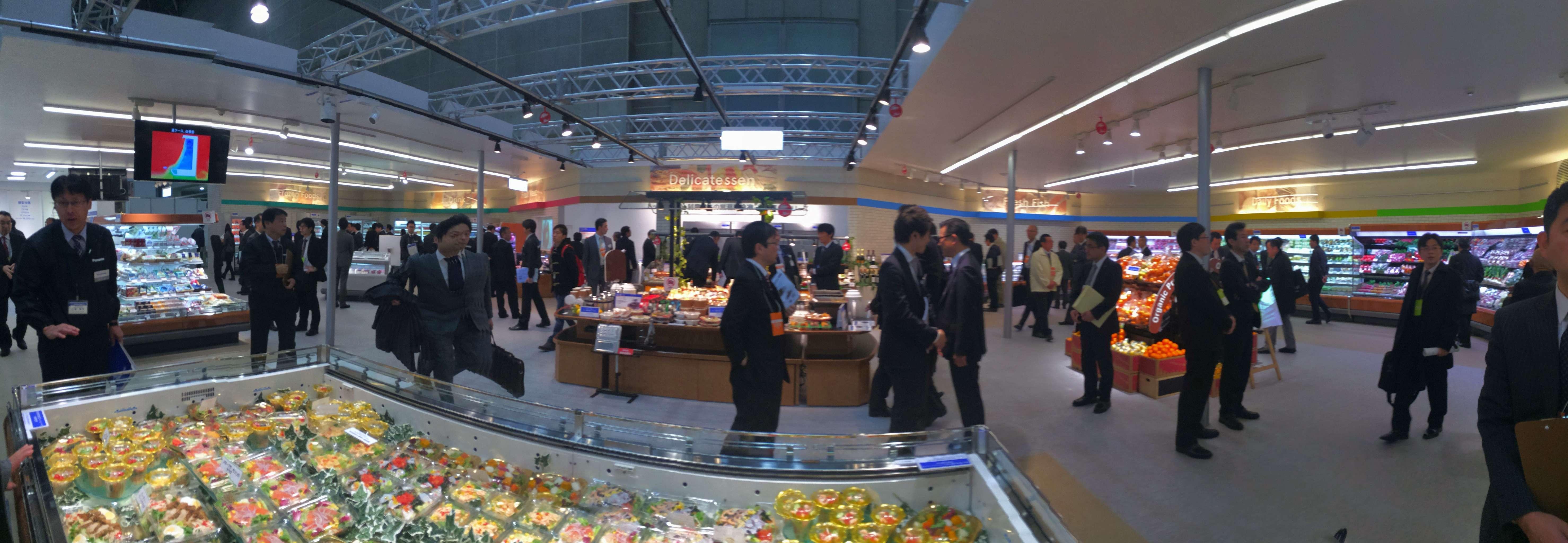 スーパーマーケット・トレードショー2015 パナソニックブース 内観