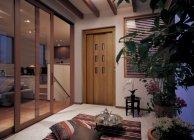内装建材シリーズ「VERITIS」空間イメージ(ヴィラ・リゾート)