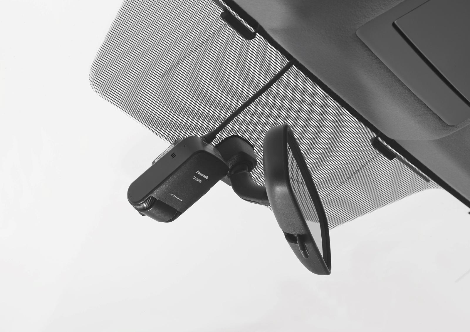 「美優Navi」専用ドライブレコーダー「CA-DR01D」車載イメージ