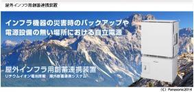 【屋外インフラ用創蓄連携装置の紹介ページ】