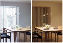 電球色と昼白色を手軽に切り替えできる、パナソニックの「光色切替明るさフ リー」シリーズ(ダイニング)