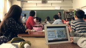 """タブレットを使った授業 パナソニックの""""ICT""""を活用した教育貢献"""