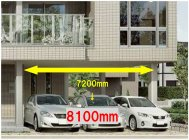 Vieuno7 工業化住宅最大となるワイドスパン8100mmを実現