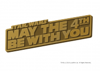 STAR WARS(TM) MAY THE 4TH BE WITH YOU ピンバッジ(非売品)