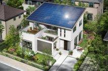 大容量太陽光発電を搭載した 『BlueEnergy』(エコ・コルディス)外観