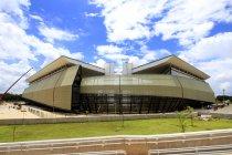 ブラジル スポーツスタジアム「アレーナ パンタナウ」の外観