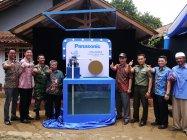 インドネシア・チセエン村Karihkil地区に寄贈した 30時間連続運転可能なウォーターポンプ