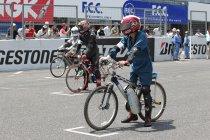 【Ene-1 GP】新イベント「KV-BIKEチャレンジ」登場(2013年エキシビションの様子)